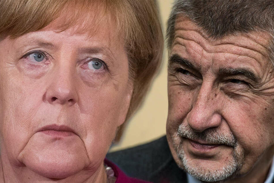 Bundeskanzlerin Angela Merkel konnte den tschechischen Ministerpräsident Andrej Babis von ihrem Konzept für die EU-Flüchtlingspolitik nicht überzeugen.