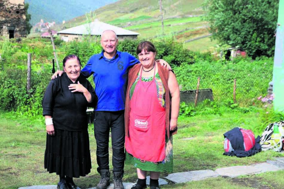 """Seit seinem Studien-Ausflug kehrt er immer wieder in den Kaukasus zurück. """"Ich liebe Land und Leute."""""""