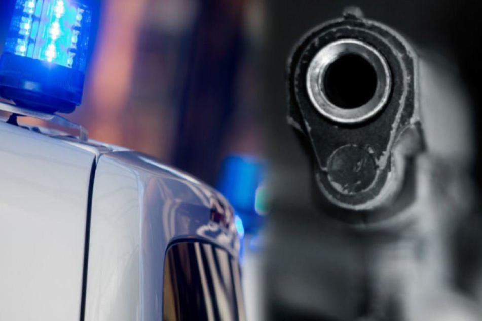 Die Anwohnerin (32) ging mit ihrer Pistole vors Haus und gab einen Warnschuss ab. (Symbolbild)
