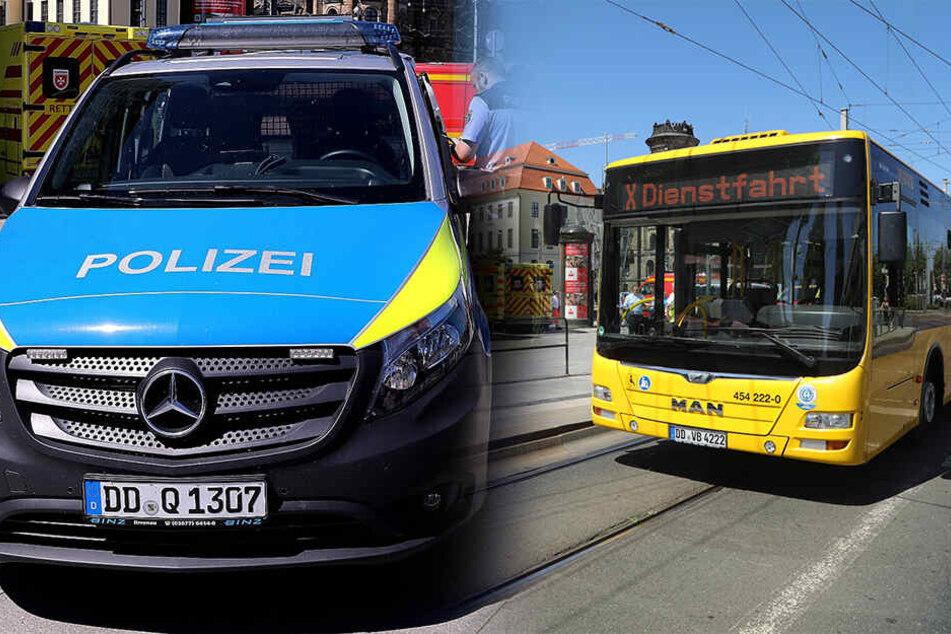 Linienbus muss Vollbremsung machen: Verletzte Fahrgäste, Fahrer unter Schock