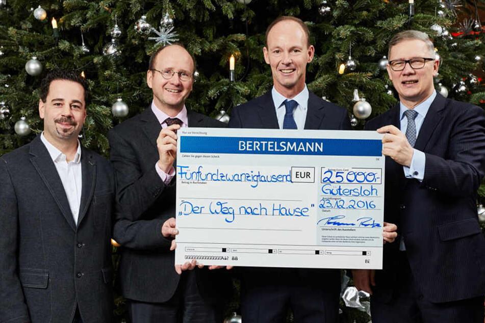 Stefan Schwalfenberg, Prof. Dr. Eckard Hamelmann, Thomas Rabe und Dr. Rainer Norden (v.l.n.r.).
