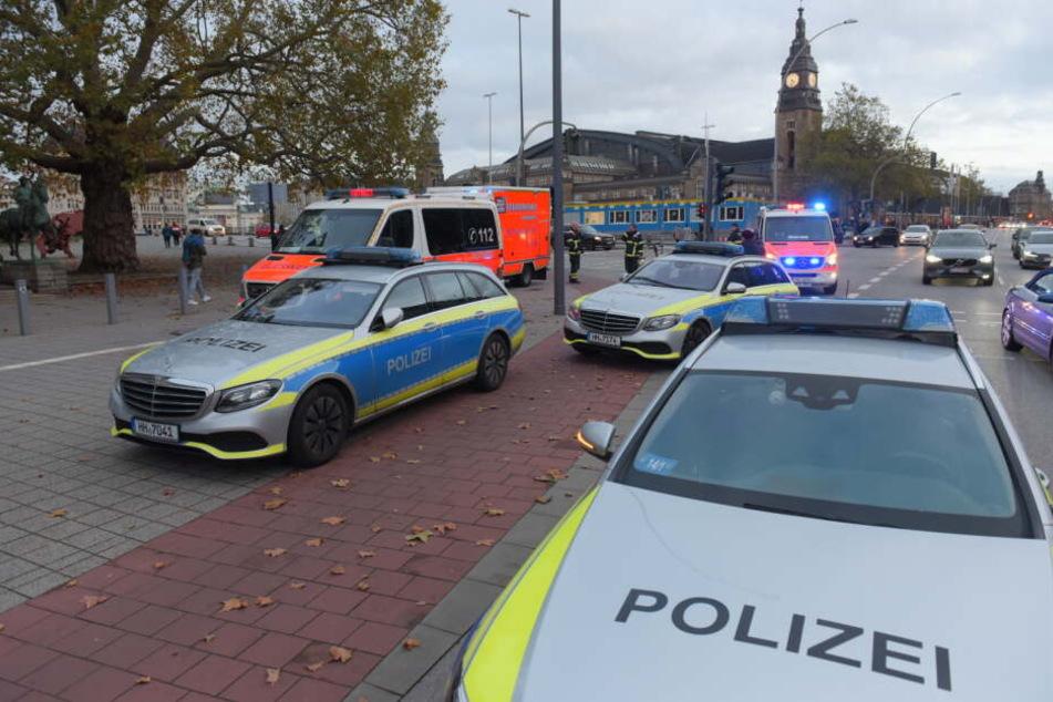 Streit vor der Hamburger Kunsthalle eskaliert