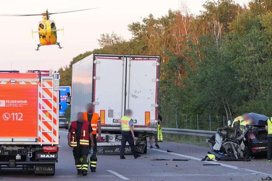 23-Jähriger stirbt bei Unfall auf A14: So kam es zum tödlichen Zusammenstoß!
