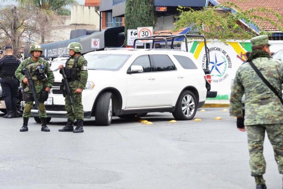 In Mexiko wurden drei Tote in einem Geländewagen entdeckt. Sie alle wiesen Schusswunden auf.