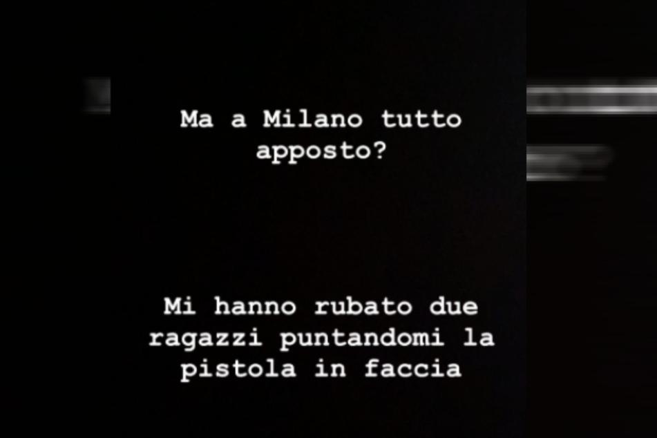 Am Dienstag postete AC-Mailand-Profi Samu Castillejo (25) in seiner Instagram-Story, dass er von zwei bewaffneten Männern überfallen worden sei.