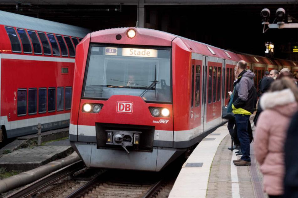 Am Hamburger Hauptbahnhof und in einer S-Bahn ging ein Mann mit einem Dildo auf Frauen los. (Archivbild)