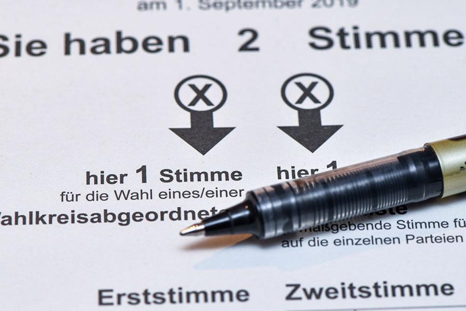 Egal ob Kreuz oder Kringel: Der Wählerwille muss auf dem amtlichen Stimmzettel eindeutig erkennbar sein, sonst ist die Stimme ungültig.