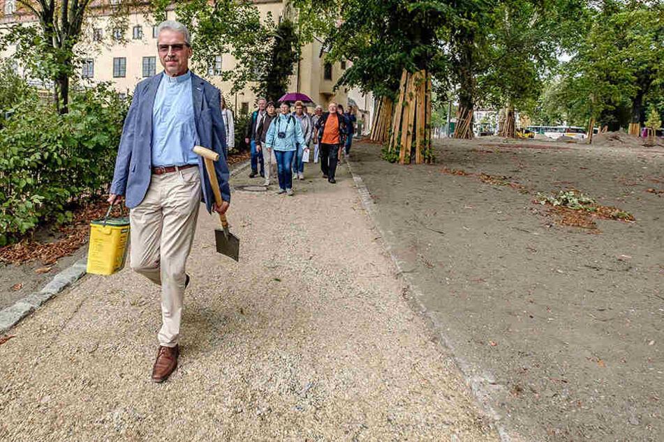 Bäume im Namen des Reformators: Dresdner Pfarrer ist jetzt Luthers Förster