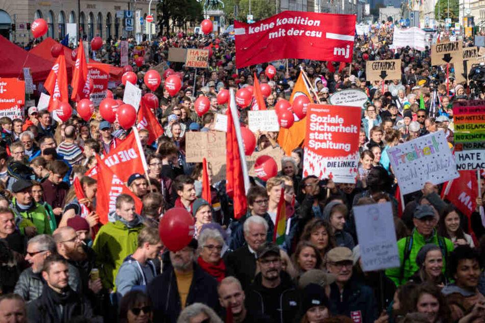 Kampf gegen Hetze, Gewalt und das PAG: Tausende gehen auf Straße