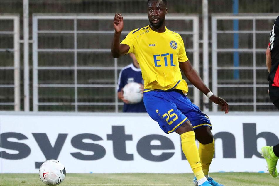 Stephané Mvibudulu traf zur 1:0-Führung für Lok. (Archivbild)