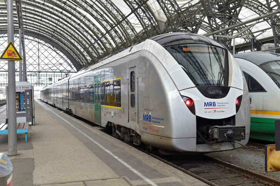 Mit den Ausfällen auf der Linie RB 110 zwischen Leipzig und Grimma soll es ab Montag vorbei sein. Die Züge fahren dann wieder nach Regelfahrplan.