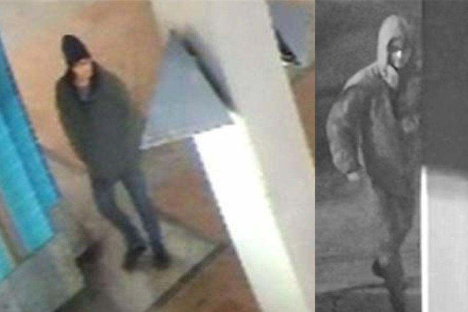 Bilder von Überwachungskameras: Ist das der Chemnitzer Reifenstecher?