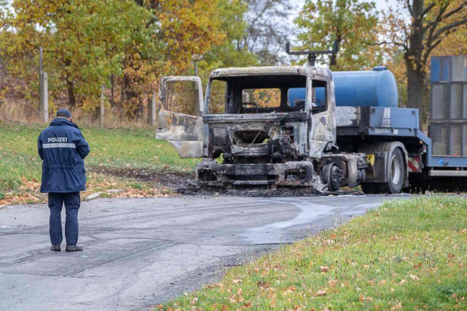 Brandanschlag auf Baufirma: 30.000 Euro Belohnung ausgesetzt