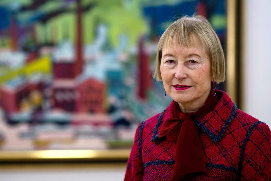 Die scheidende Chefin der Kunstsammlungen, Ingrid Mössinger (76), soll Ehrenbürgerin der Stadt werden.