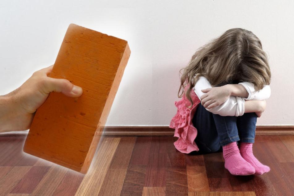 Der Tatverdächtige soll seine Kinder zunächst mit einem Backstein bewusstlos geschlagen haben. (Symbolbild)