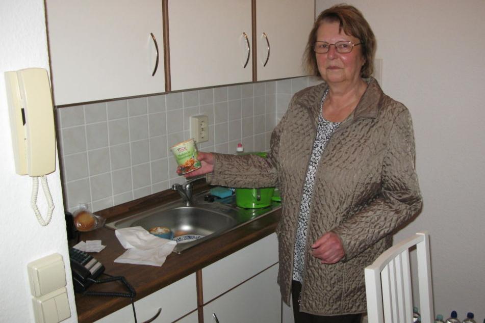 Petra Swoboda ist endlich zurück in ihrer Wohnung.