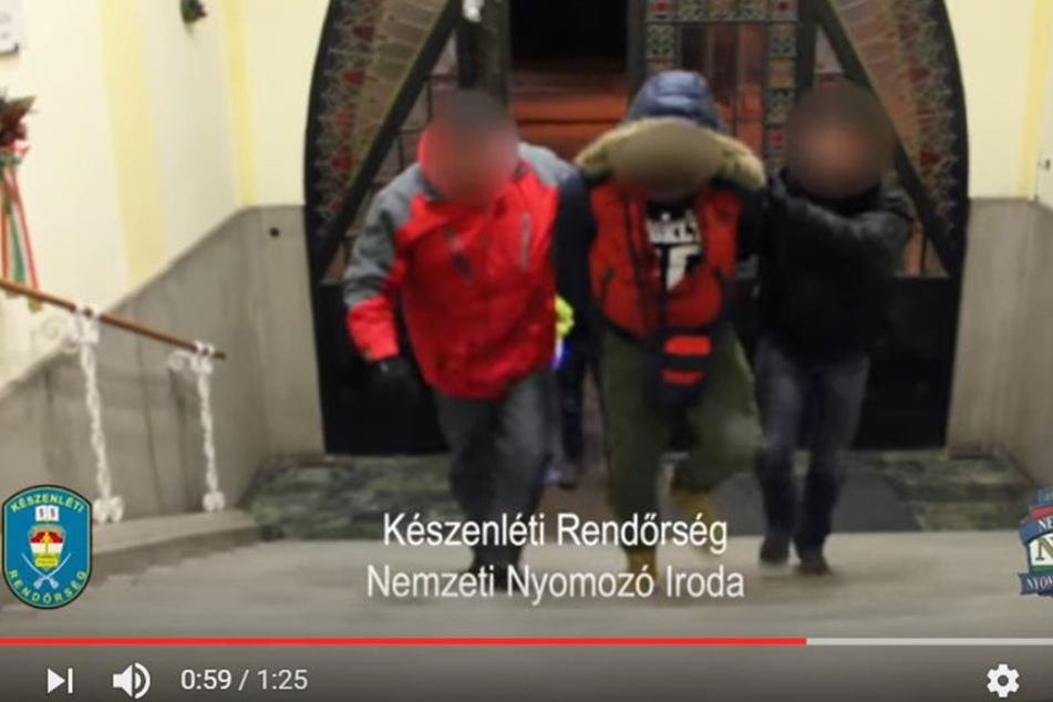 Hier nimmt die Polizei den mutmaßlichen Hurenmörder vom Sonnenberg fest