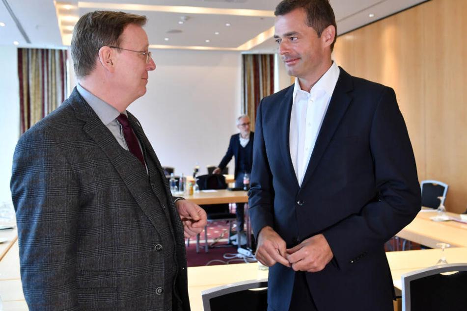 Linken-Spitze gibt Rückendeckung für Zusammenarbeit mit der CDU in Thüringen