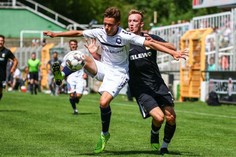 Bei der Generalprobe vor der neuen Regionalliga-Saison verlor Chemie Leipzig am Sonntag gegen den FC Inter 1:2.