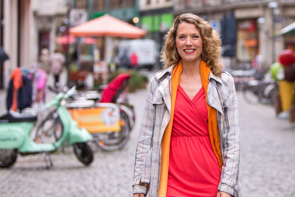 Lottofee Franziska zog ihren Hauptgewinn im Öko-Markt