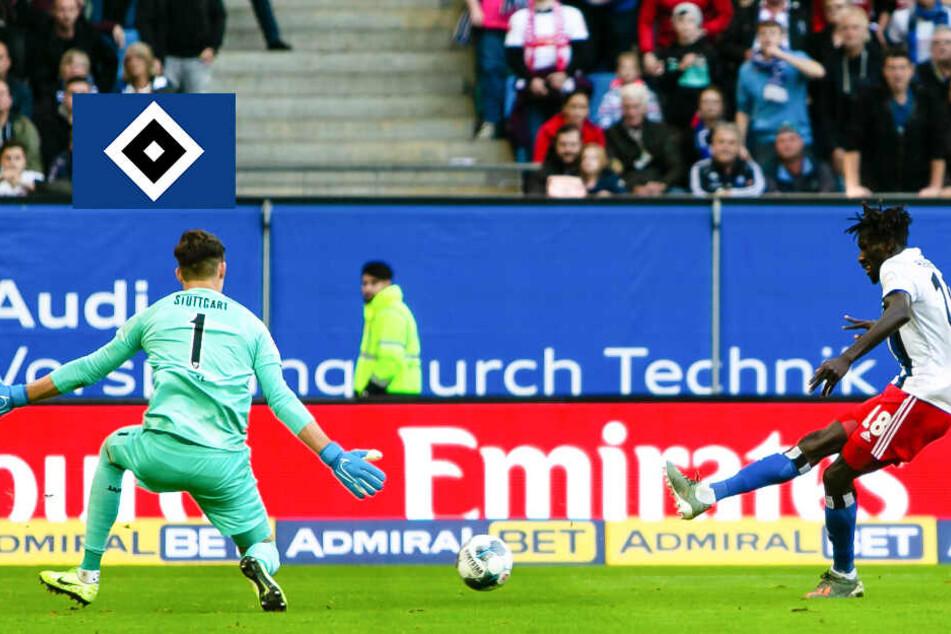 HSV-Spieler feiern nach 6:2-Gala einen überragenden Jatta