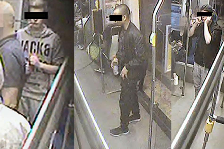 Mithilfe von Bildern einer Überwachungskamera suchte die Kripo Leipzig nach diesen drei Jugendlichen - und wurde fündig.