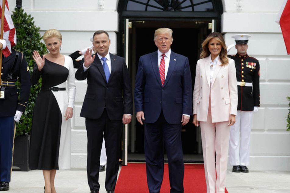 """Polen und die USA scheinen gerade """"dicke Freunde"""" zu werden - und gegen Russland eine Front bilden zu wollen."""