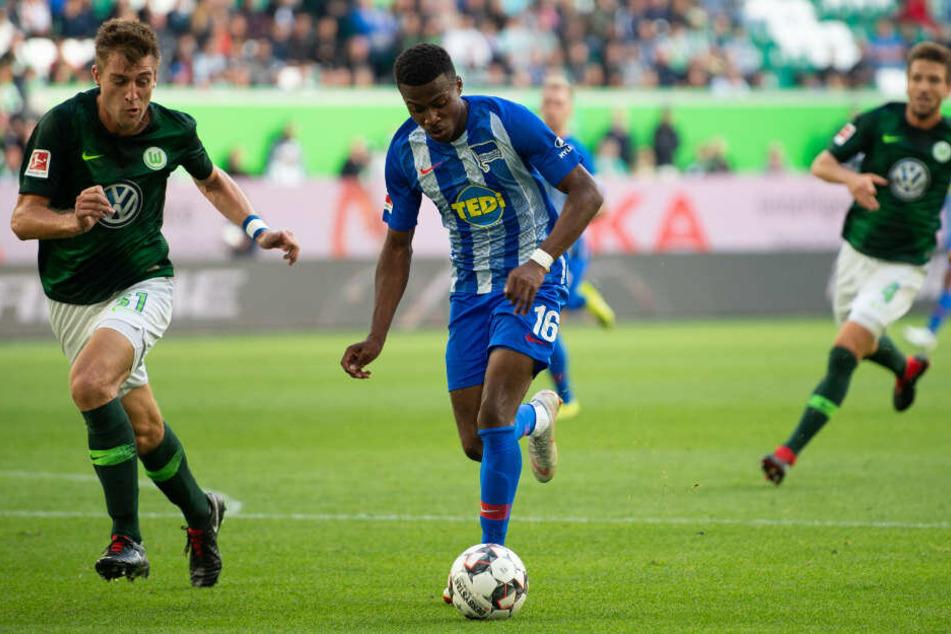 Dilrosun trifft zum 1:0 gegen Wolfsburg.