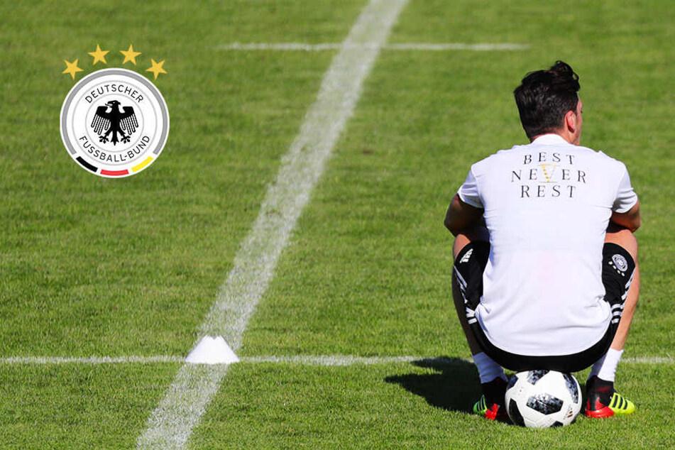 Keine Lust? Mesut Özil schwänzt den DFB-Medientag!