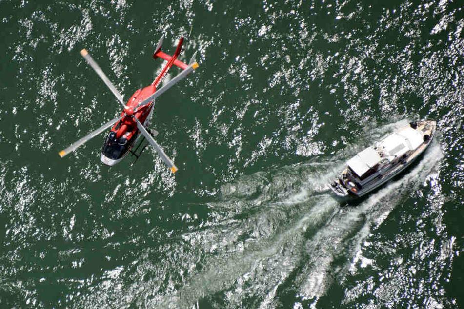 Zur Rettung der Verletzten wurde ein Hubschrauber eingesetzt. (Symbolbild)
