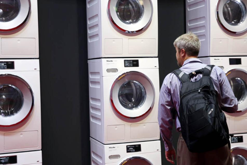 Vor allem mit Waschmaschinen wird das Unternehmen in Verbindung gebracht.
