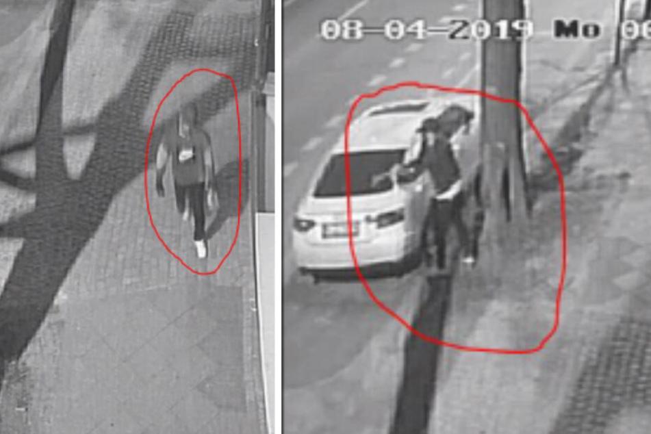 Auto abgefackelt: Polizei fahndet mit Fotos und Video nach Brandstifter