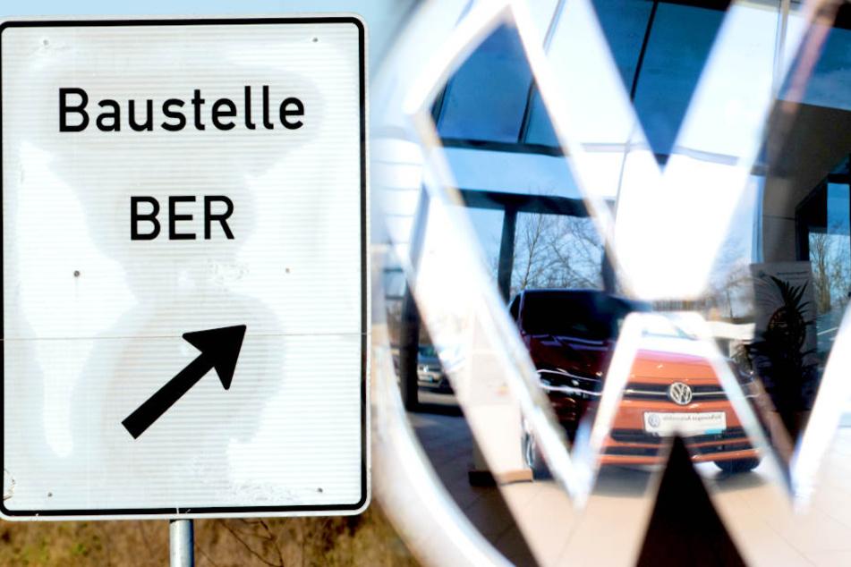 Parkplatznot! VW muss Neuwagen auf BER-Flughafen abstellen