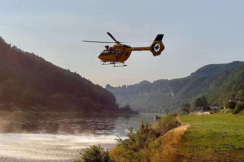 Sächsische Schweiz! Bewusstlose Frau von Bergwacht gerettet