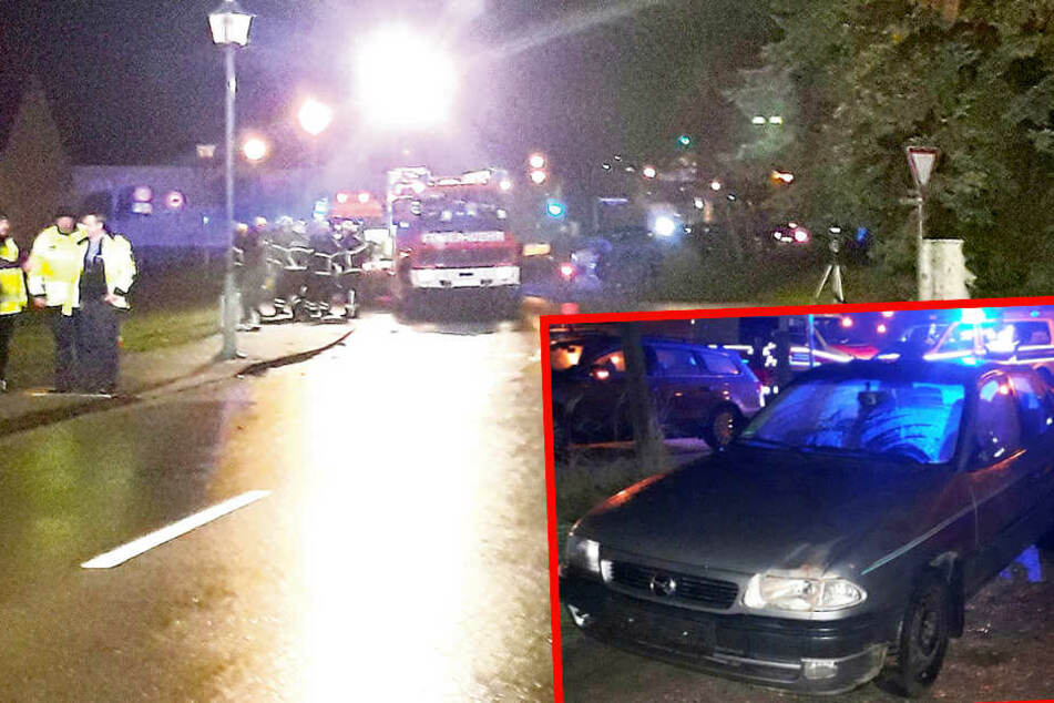 Mit 1,22 Promille! Opel-Fahrer fährt Mutter (47) in Sachsen tot