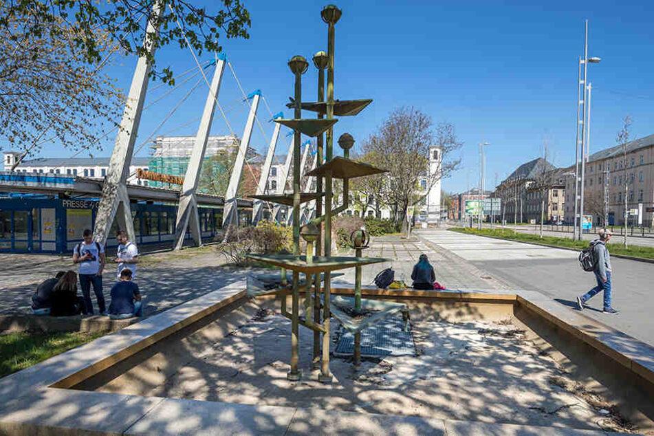 Die Fraktion würde lieber den Klapperbrunnen am Omnibusbahnhof zeitnah sanieren lassen. Kosten: 134.000 Euro.