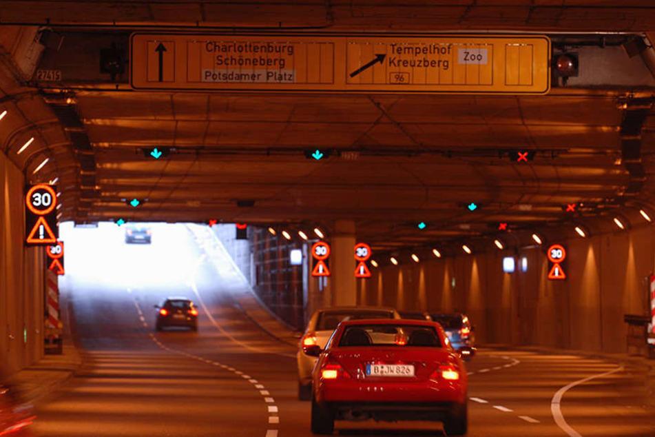 Auf 2,4 Kilometer Länge erstreckt sich der Tiergartentunnel im Herzen Berlins.