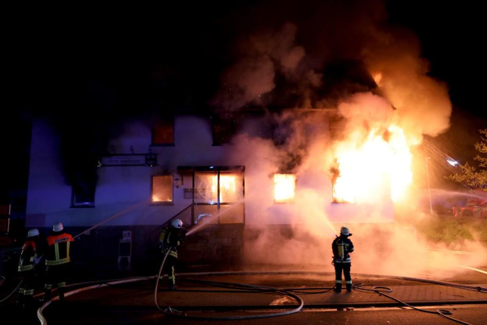 Bei dem Brand entstand ein Sachschaden von 750.000 Euro.