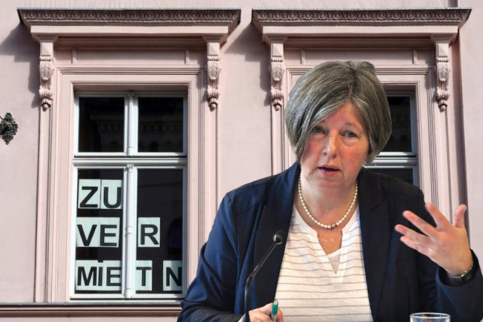 Berlins Bausenatorin Katrin Lompscher (56, Linke) verkündete die Miet-Regelung.