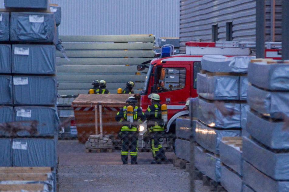 Glück im Unglück hatte die Belegschaft eines großen Holzverarbeitungsunternehmens im Norden von Magdeburg.