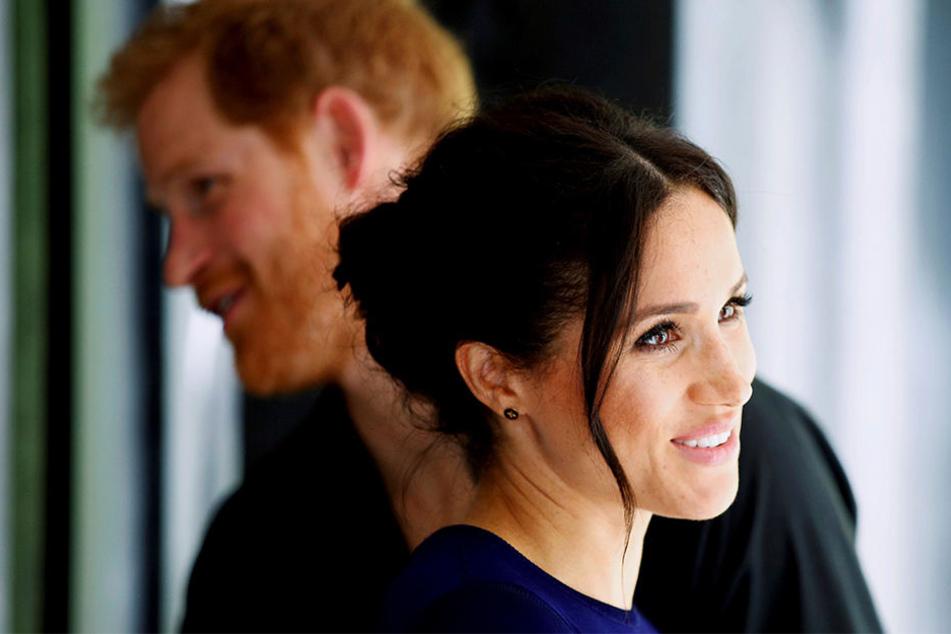 Im Frühjahre erwarten Meghan und Harry ihr erstes Kind.