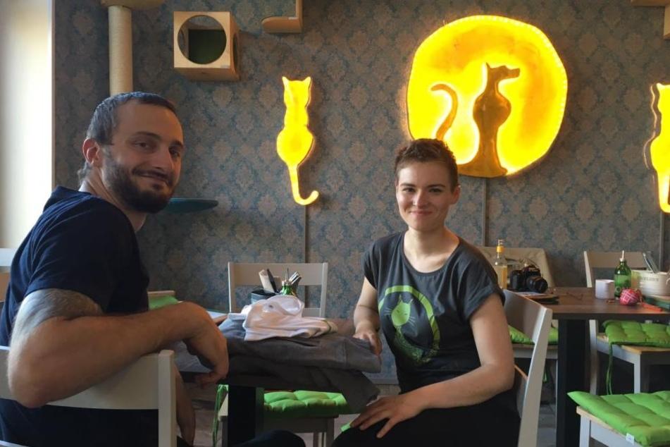 Inhaber Robin Neugebauer und Anne Rüter haben sich mit dem Café einen Traum erfüllt.