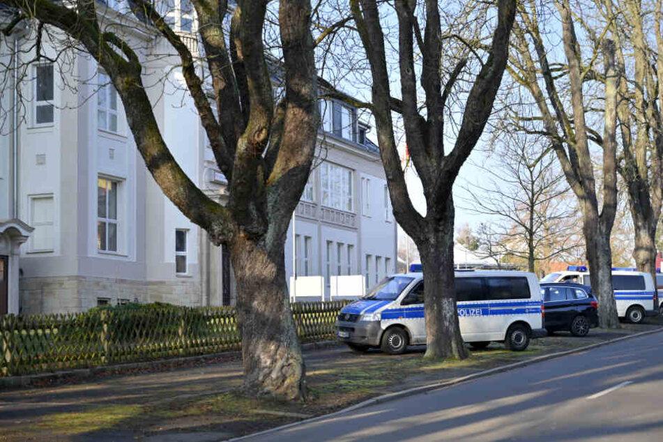 55 Polizisten waren an der Aktion beteiligt.