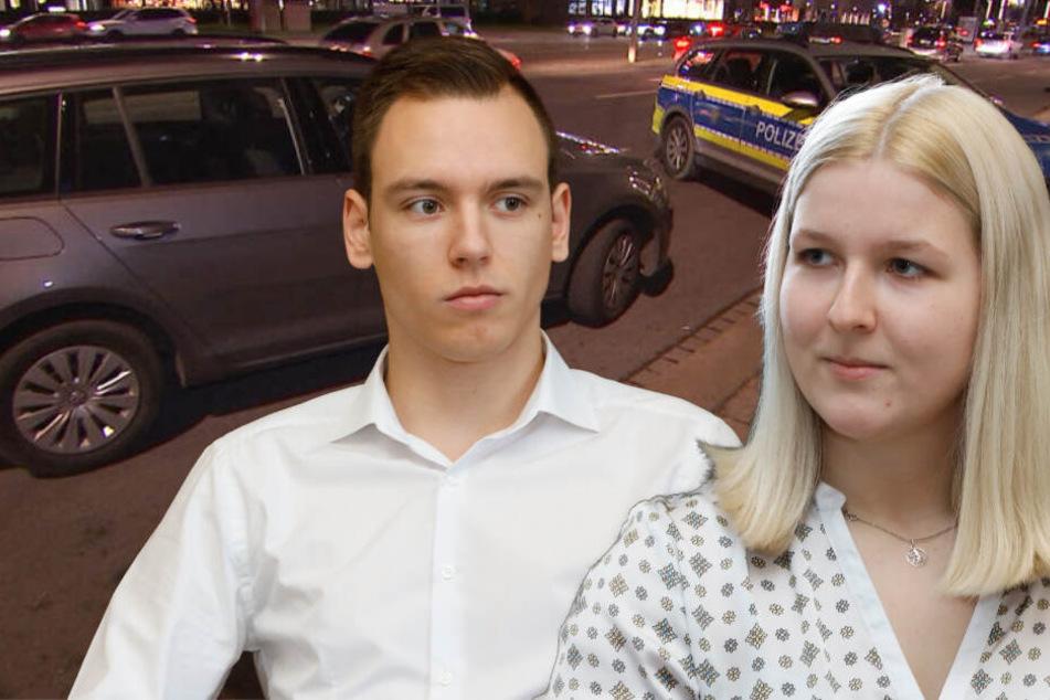 Leipzig: Geiselnahme in Leipzig: Wie Julia (19) und Nico (20) eine Tragödie verhinderten