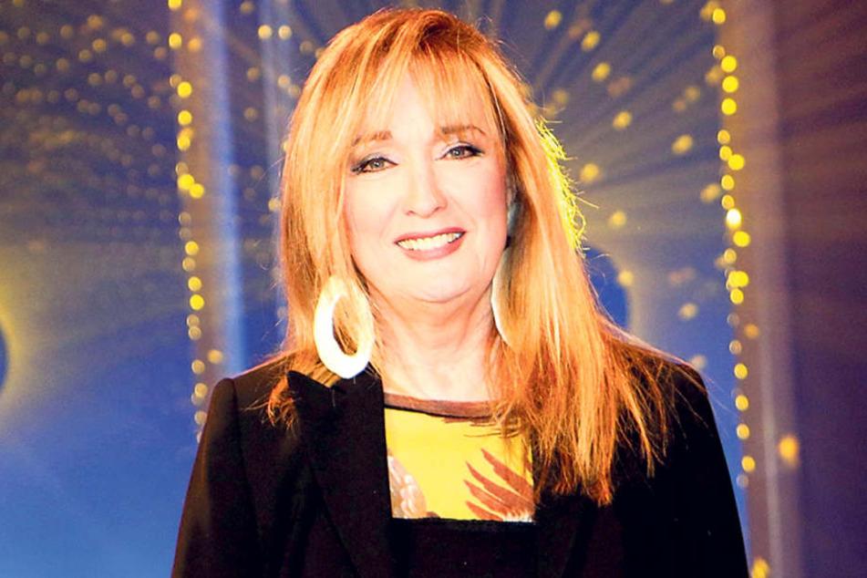 Veronika Fischer (66) singt in  Dresden Lieder, die erst 2018 auf ihrem neuen Album erscheinen.