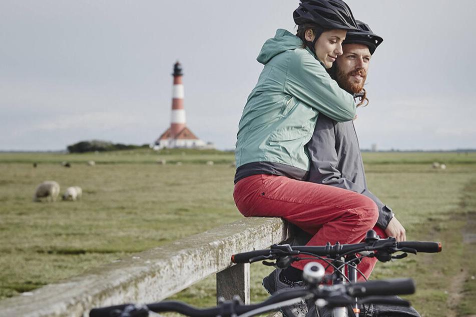 Wer radelt, hat mehr vom Urlaub - ob als Paar, Familie oder in der Gruppe.