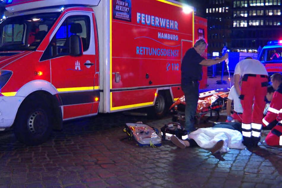 Schwerer Unfall mit E-Scooter in der Hamburger City!