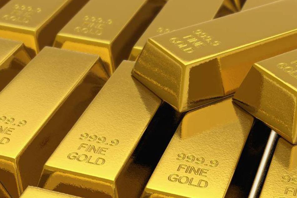 100 Kilo Gold fand der Erbe in dem Haus in Nordfrankreich.