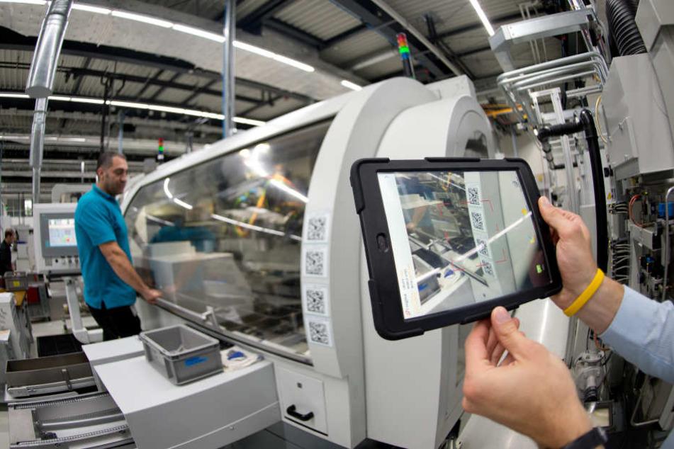 In NRW sind rund zwölf Prozent aller Jobs in Gefahr, durch die Automatisierung vernichtet zu werden. (Symbolbild)