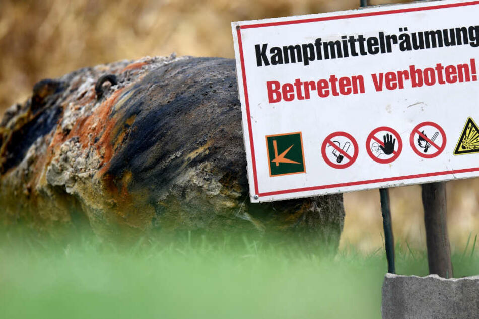 Am Freitag müssen Tausende in Potsdam wegen eines Blindgängers evakuiert werden. (Symbolbild)